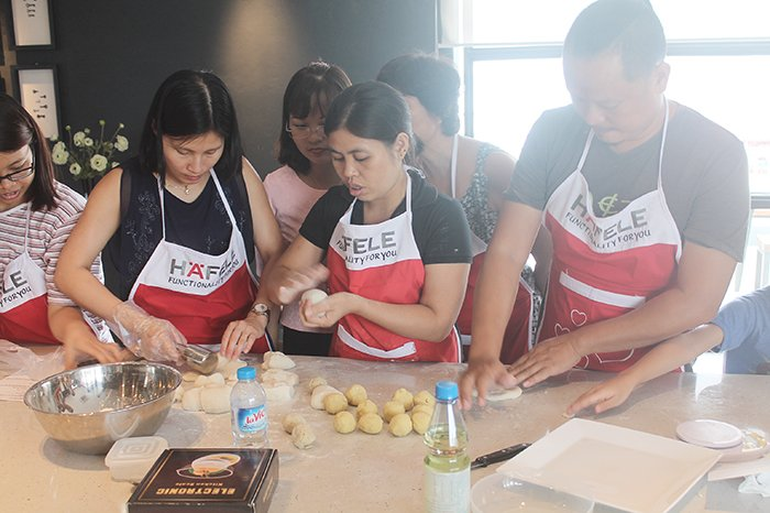 Cooking with Häfele in September, 2016 in Hanoi