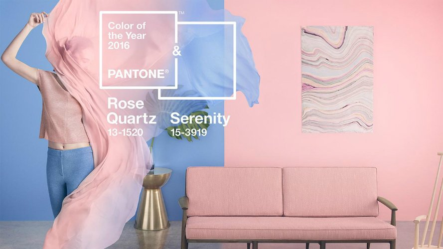 Color of the year 2016 – Pantone