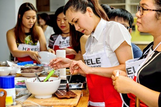 Cooking with Häfele  in September 2016 in Ho Chi Minh