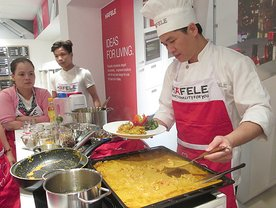 """Cooking with Häfele"" came to Danang"