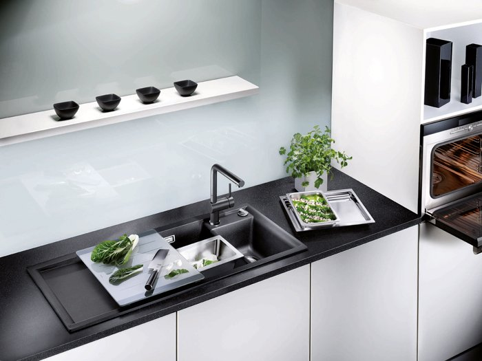 a new faucet will improve not just the look of you kitchen but its functionality as well