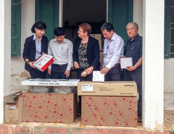 Cùng Häfele Việt Nam chung tay hỗ trợ trẻ em bất hạnh ở Ba Vì