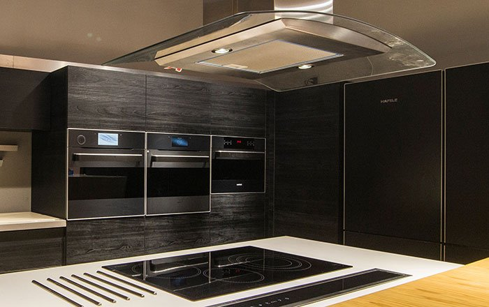 Black appliances