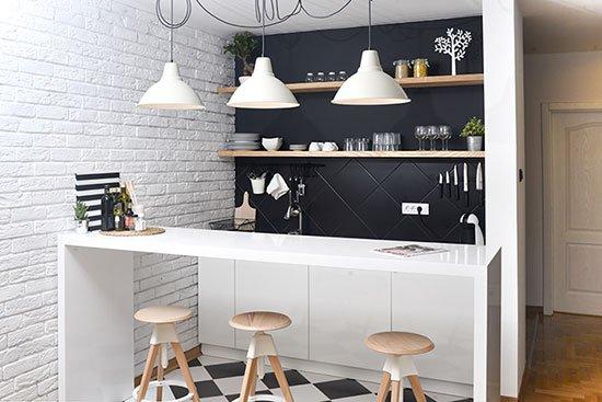 Làm mới không gian bếp đón thu sang