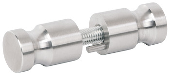 Back to back knob set, Stainless steel, 304