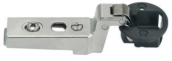 Concealed hinge, Clip Top 94°, inset mounting, for glass doors