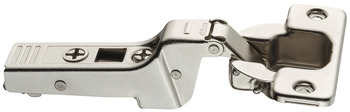 Concealed hinge, Clip Top 95°, half overlay mounting/twin mounting, with or without automatic closing spring