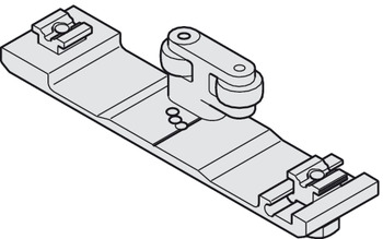 Connector connecting profile, For 2 pivot sliding doors