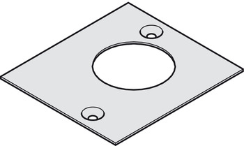 Cover plate, For pivot bearing, Geze