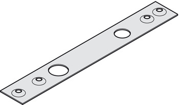 Cover plate, For top centres, Geze