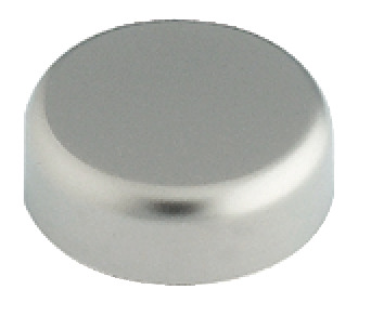Cup trim cap, for Clip Top 94°, round, for glass doors