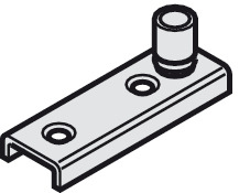 Floor guide roller, For U-shaped guide track
