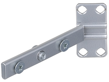 Front brackets, for extension frame, base unit pull-out