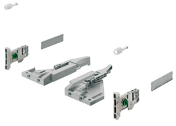 Front fixing brackets, For Vionaro H185 drawer