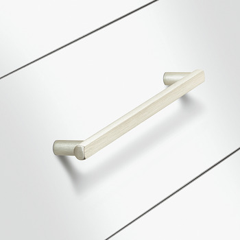 Furniture handle, Aluminium handle with base