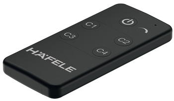 Häfele Loox Basic 4-channel radio remote control, With dimmer function
