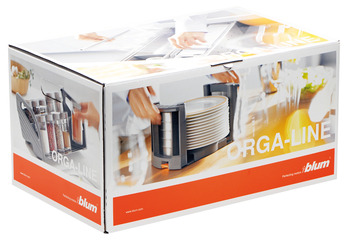 Kitchen aid set, Blum Orga-Line, Tandembox