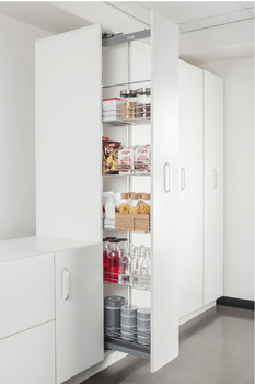 Larder unit, Pull out pantry, Milan series