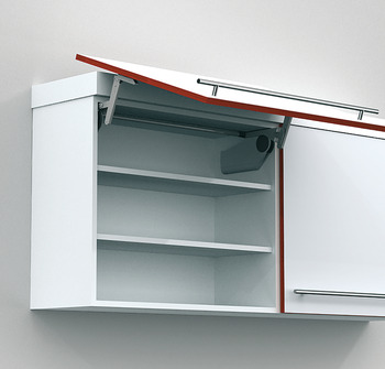 Lift mechanism unit, without cover cap, for Aventos HS swing-up front fitting
