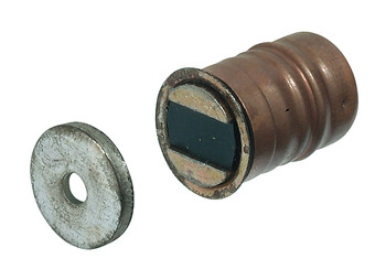 Magnetic catch, pull 5.0 kg, for 13.6 mm drill hole
