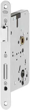 Mortise lock, for escape routes and panic areas, B 2321, profile cylinder, BKS