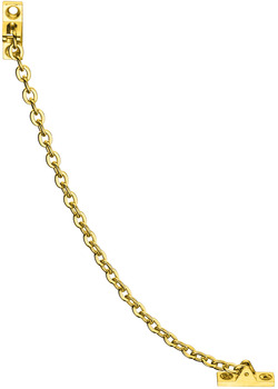Opening angle restraint, brass, length 200 mm