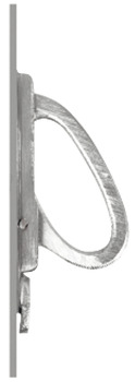 Pull handle, for sliding doors, without lock case