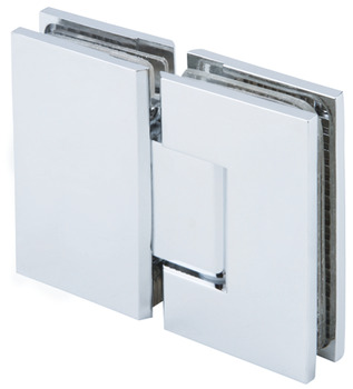 Shower door hinge, Glass to glass hinge 180º