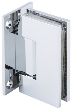 Shower door hinge, Wall to glass hinge 90º