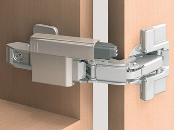 Soft closing mechanism for doors, Blumotion, for 170° hinge (full and half overlay mounting/twin mounting)