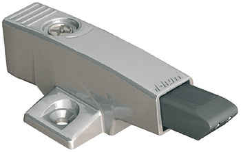 Soft closing mechanism for doors, With cruciform adapter housing, 971A0500