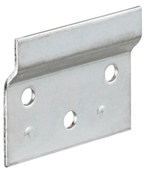Support plate, steel, length 60 mm