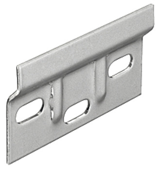 Support plate, steel, length 63 mm