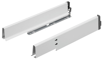 Undersink drawer sides, Drawer side height 83 mm, for Blum Tandembox antaro/plus under sink cabinet drawer and pull-out