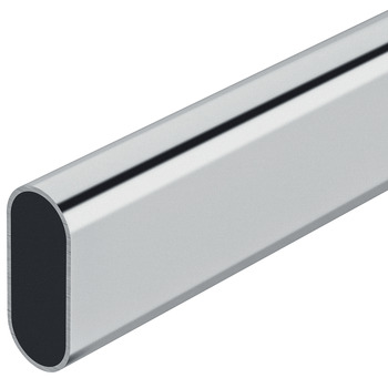 Wardrobe rail, OVA 30 x 15 mm