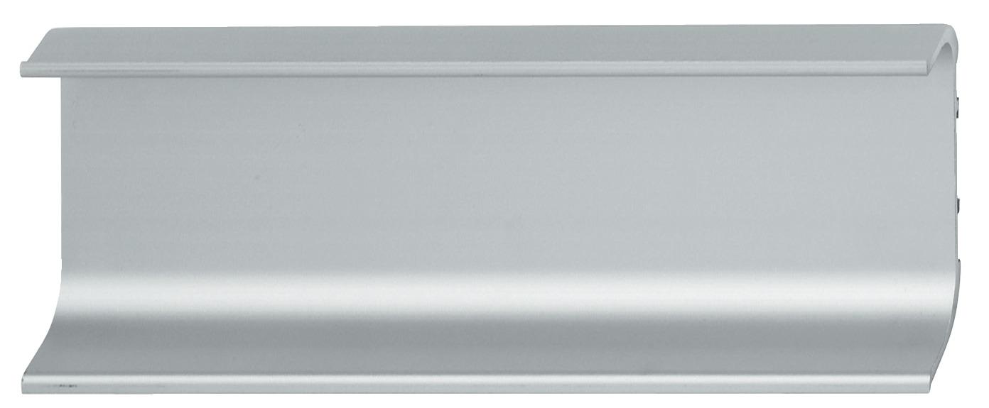 Recessed Grip Profile Horizontal Aluminium For