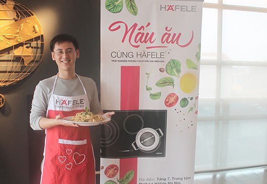 Cooking with Häfele in March 2016