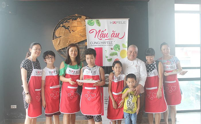 Cooking with Häfele of July, 2016 in Hanoi