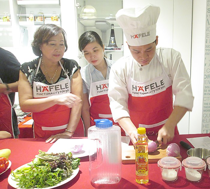 Cooking with Häfele of June, 2016 in Danang