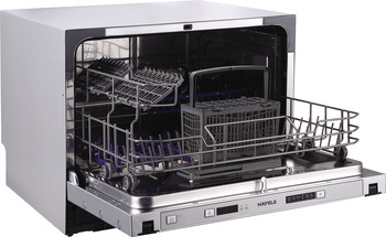 Built-in dishwasher, 6 place settings, 6 programs