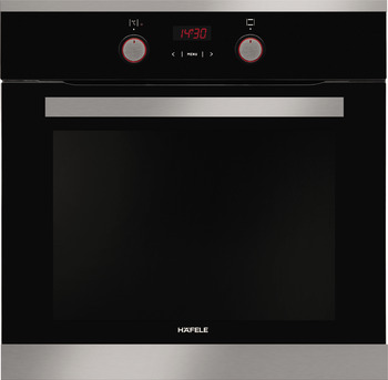 Built-in oven, touch and knob control, triple layers glass, 60 cm, 65 litres