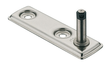 Cabinet fixing brackets, for Aventos HK-XS stay flap fitting