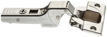Concealed hinge, Clip Top 110°, half overlay/twin mounting, with automatic closing spring