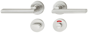 Door handle set, Stainless steel, Startec, model LDH 2181, grade 2