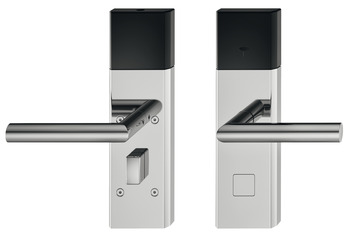 Door terminal set, Häfele Dialock DT 700 with open Bluetooth interface SPK, for interior/guest room doors, with thumbturn