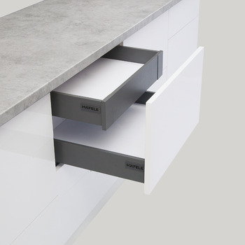 Drawer set, Alto-S inner, Drawer side height 80 mm