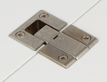 Flap Hinge, Set, 90°, for Flaps or Lid Stays, Kimana