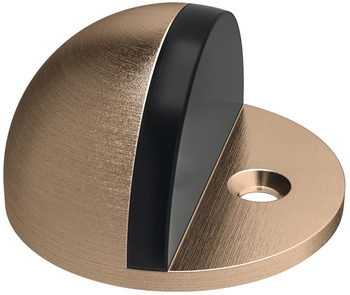Floor mounted door stop, brass, for screw fixing, Startec