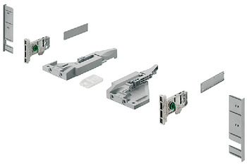 Front fixing bracket set, For Vionaro H89 internal drawer