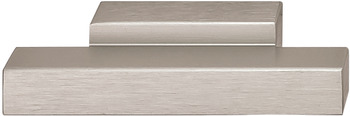 Furniture handle, Aluminium finger pull handle, straight-edged